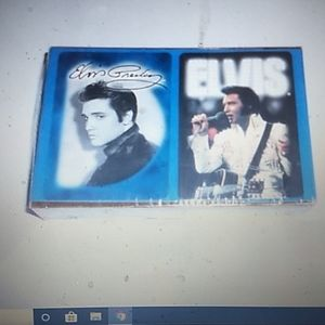 2 Deck sealed packs Elvis playing cards Hawaii and